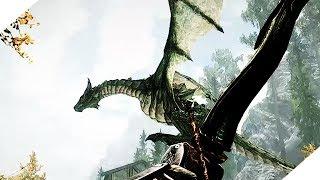 Драконы  Skyrim Special Edition Прохождение 38