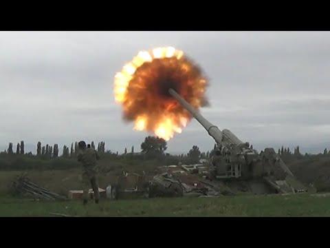 Nagorno-Karabakh: Heavy Clashes Between Armenian \u0026 Azerbaijani Forces As Both Declare State Of War