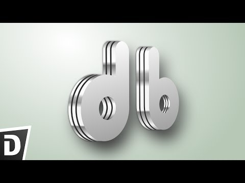 Metal Text Logo   Inkscape Tutorial