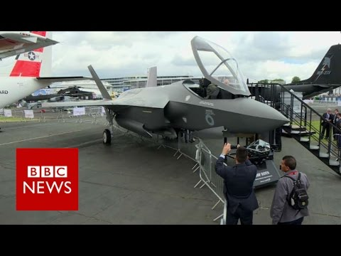 Up close and personal with the F-35 jet - BBC News