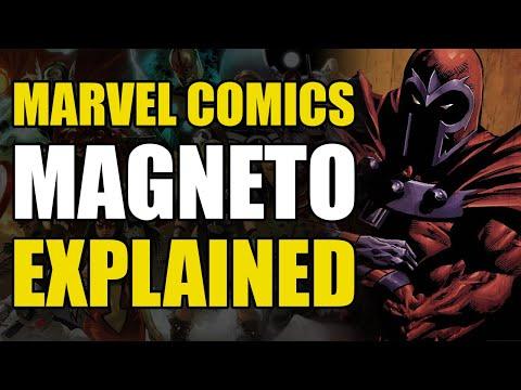 Marvel Comics: Magneto Explained