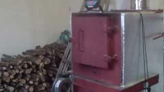 Пиролизный котел + ТА 4000л. Отопление производства(Пиролизный котел 50кв + Теплоаккумулятор 4000л. Отопление производственного помещения 300 кв/м (200кв/м цех с..., 2013-01-24T15:06:45.000Z)
