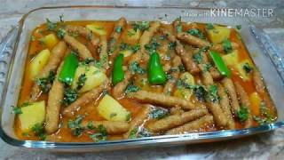 Besun istick and potato  gravy Easy cooking with as