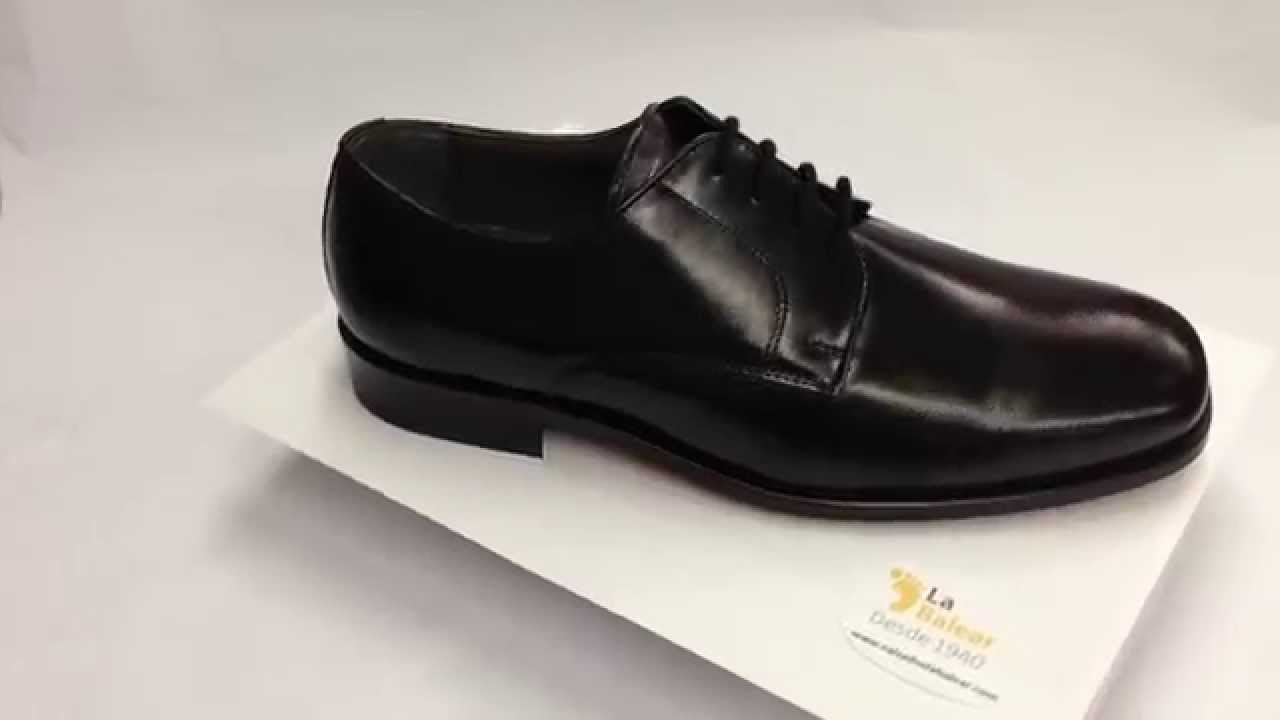 minorista online 603be ebcf4 Zapato cordones vestir pala lisa Grimmaldi modelo 2169 en Negro. Calzados  La Balear