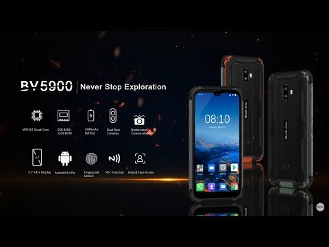 Blackview BV5900 Official Video, The Toughest Rugged Outdoor Phone, Inspired By SPACE CAPSULE