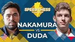 Hikaru Nakamura vs Jan-Krzysztof Duda:  2019 Speed Chess Championship Quarterfinals