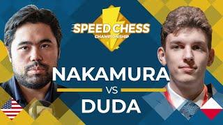 Download lagu Hikaru Nakamura vs Jan Krzysztof Duda 2019 Speed Chess Chionship Quarterfinals MP3