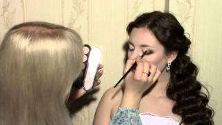 видео свадебный макияж