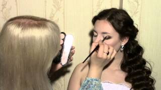 Свадебный макияж. Мастер-класс Анастасии Александрович.