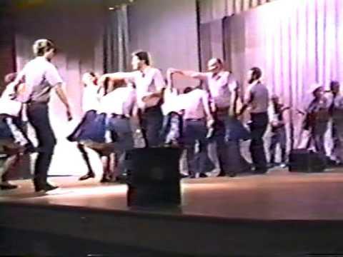 Campbell Folk School Cloggers 1991