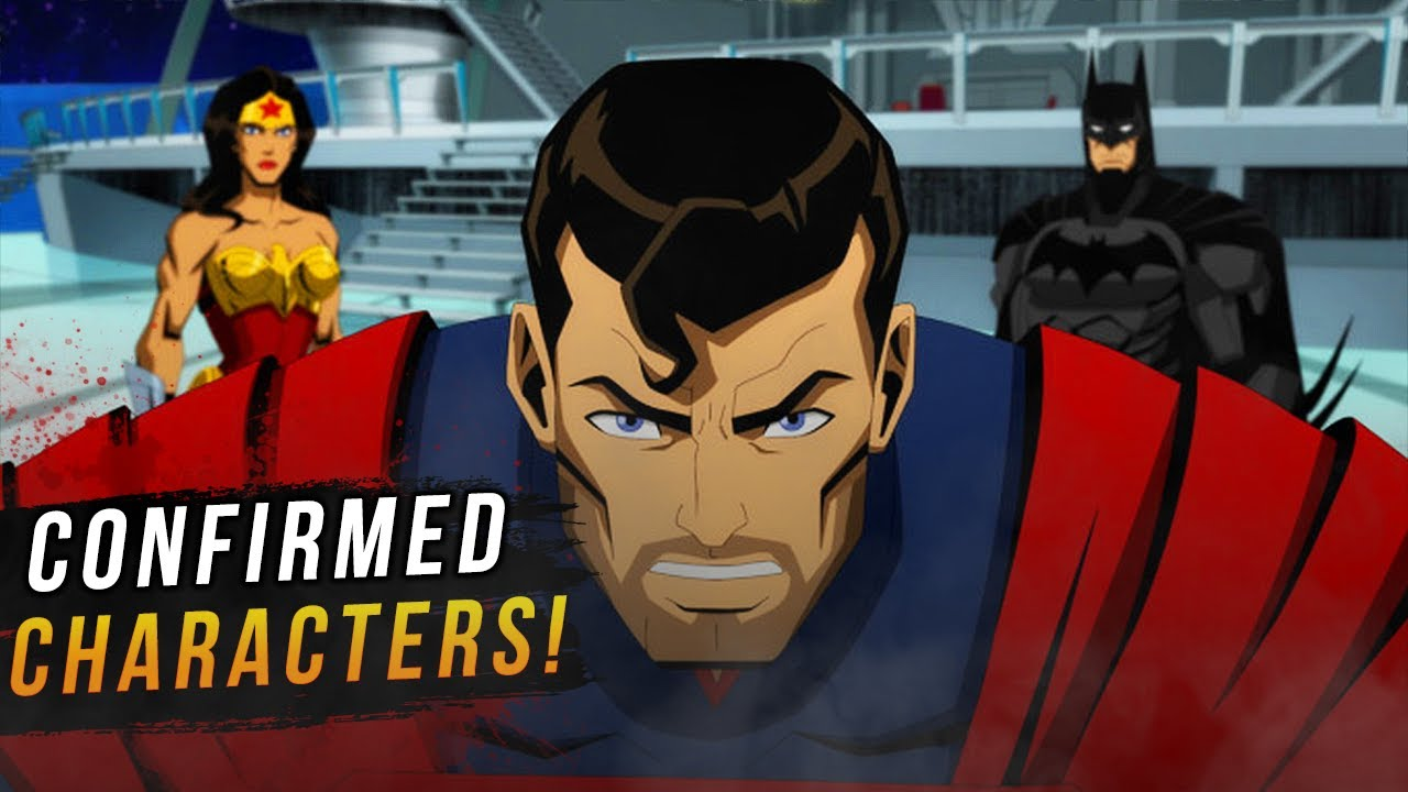 """NEW Injustice Animated Movie """"First Look"""" & Confirmed Characters!"""