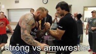 Армрестлеры vs Пауэрлифтеры, Бодибилдеры, Стронгмены!\Armwrestlers vs Powerlifters, Bodybuilders!