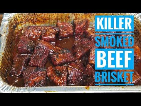 Smoky Beer Braised Beef Brisket