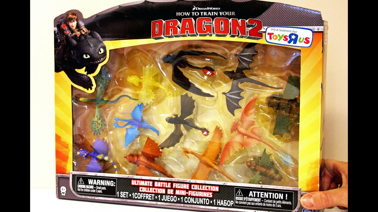 How to Train Your DRAGON2 Ultimate Battle Figure Collection