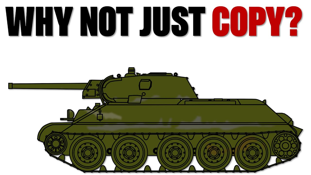 Download Why didn't the Germans copy the T-34?