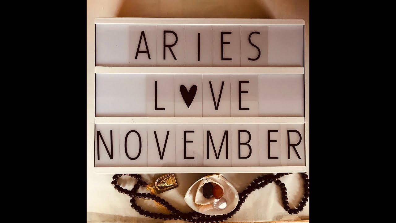 Aries ❤ LOVE Tarot November POTENTIAL!!