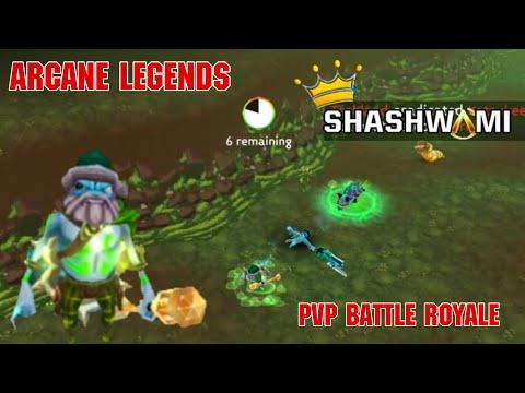 Arcane Legends - PVP Battle Royale ! 2020