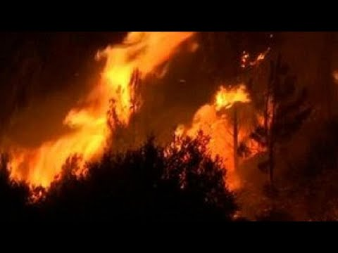Ivory Coast: A fire ravages a large market in Abobo [no comment]