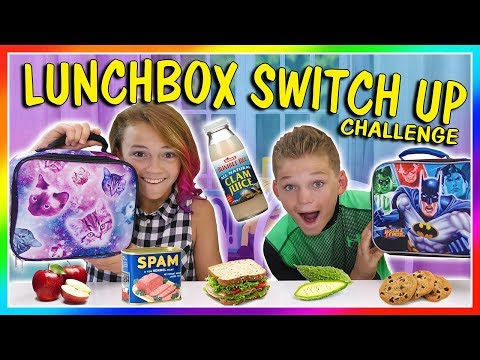 LUNCHBOX SWITCH UP CHALLENGE | We Are The Davises