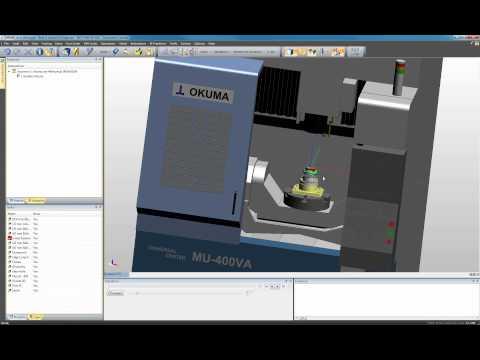 Edgecam 5-Akse Maskinering