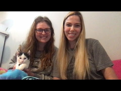CATHOLIC Q&A WITH MY BEST FRIEND + HER KITTEN!!!