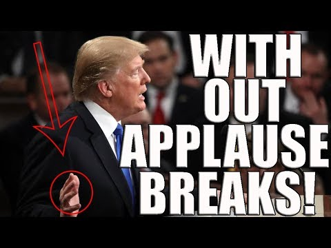 State of the Union Without Applause Breaks - 1/30/2018