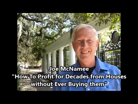 How to Profit for decades from houses without ever buying them - Joe McNamee