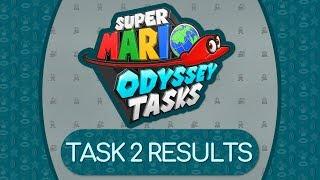 TASK 2 RESULTS | Super Mario Odyssey Tasks Season 3