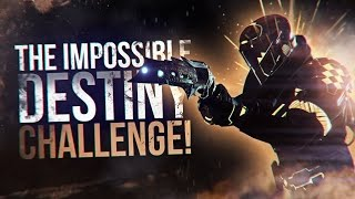 Destiny: The Impossible Crucible Challenge | Winning Rumble Primary Only!