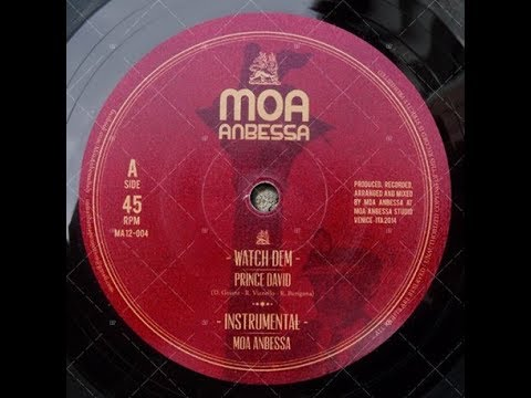 Prince David & Moa Anbessa - Watch Dem & Instrumental (YouDub Sélection)