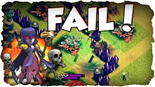 Max Witch FAIL! | CLASH OF CLANS | Mauern to Max 170/225! (Deutsch / German)