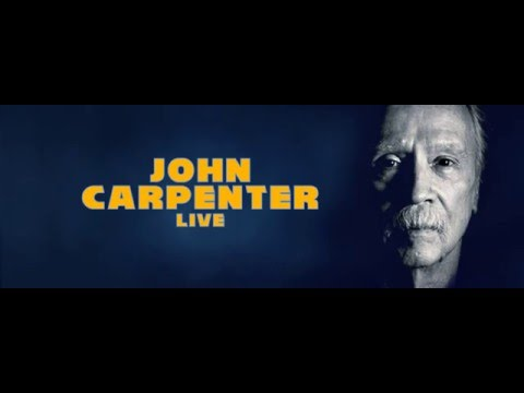 John Carpenter Live on the 5th of July 2016 at NIFFF