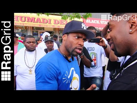 """Loaded Lux to Aye Verb: """"I Elevated The Game - Pay Homage"""" - Argument In Harlem (Who Wins?)"""