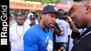 "Loaded Lux to Aye Verb: ""I Elevated The Game - Pay Homage"" - Argument In Harlem (Who Wins?)"
