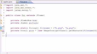 Java Programming Tutorial - 68 - JComboBox