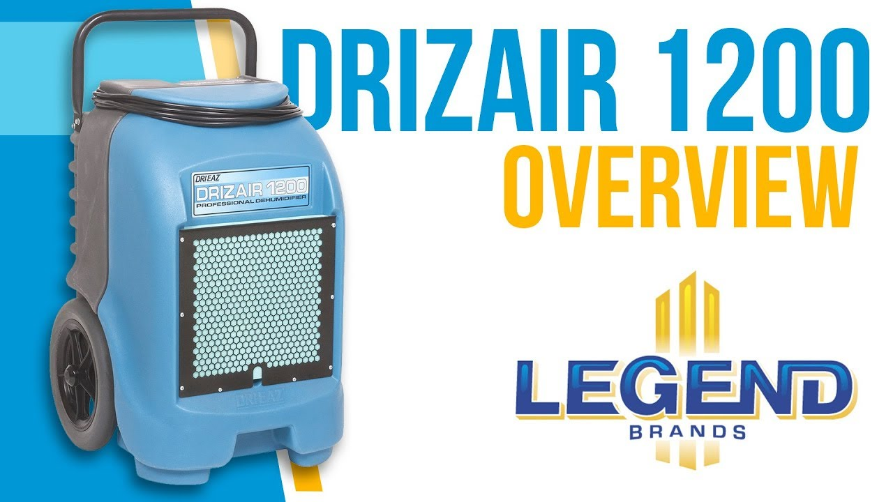 Dri-Eaz 1200 Portable Dehumidifier