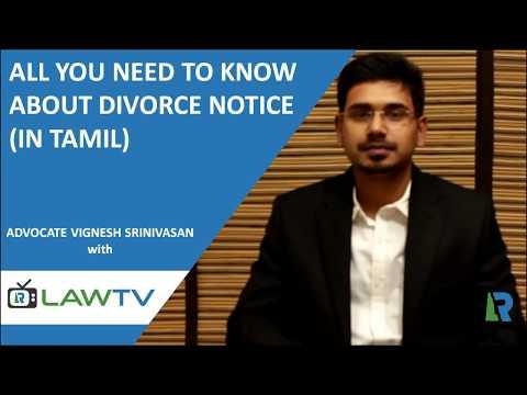 Divorce Legal Notice (in Tamil) - விவாகரத்து சட்ட அறிவிப்பு - LawRato.com