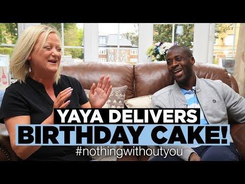 YAYA DELIVERS BIRTHDAY CAKE! | #nothingwithoutyou