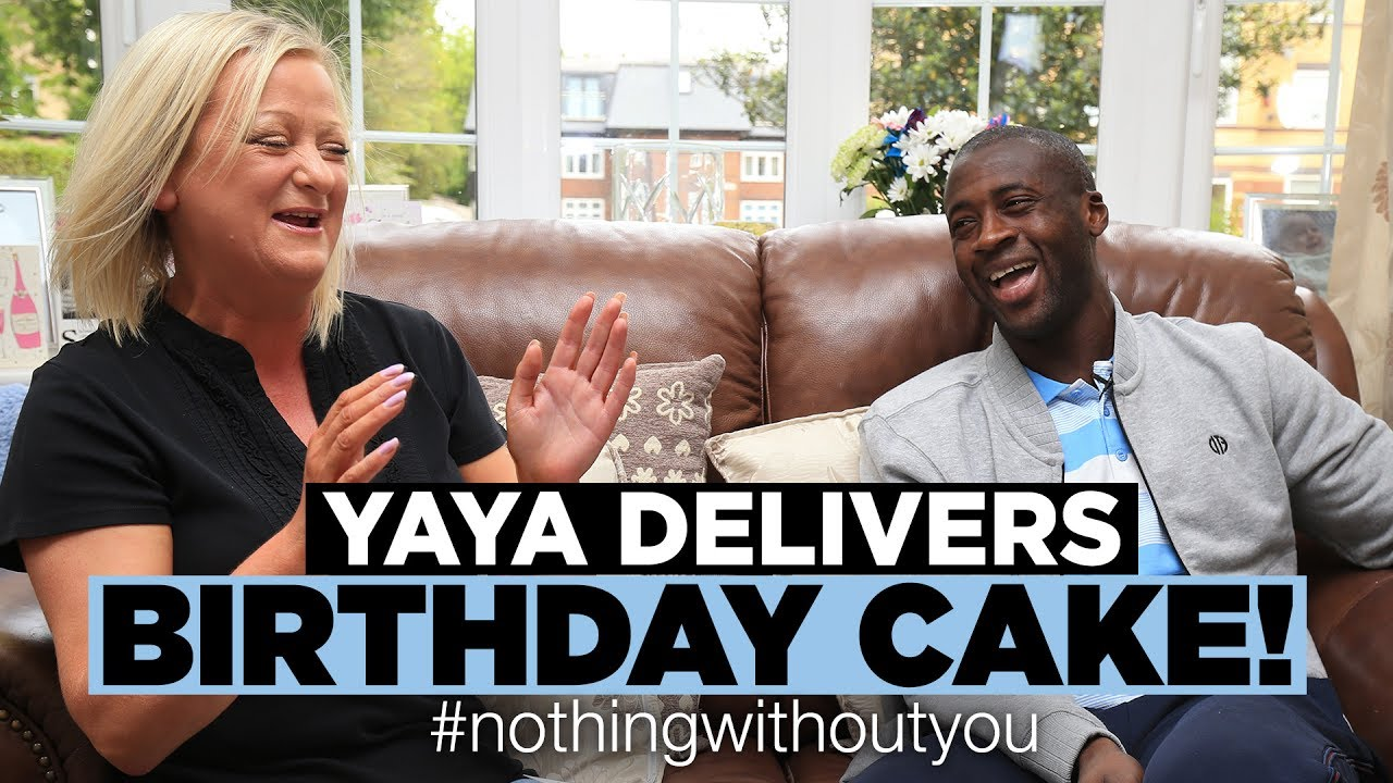 Yaya Toure Man City Birthday Cake