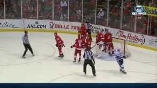 """You Got Kronwalled"" Chant in Detroit After the big hit on Ryan Callahan"