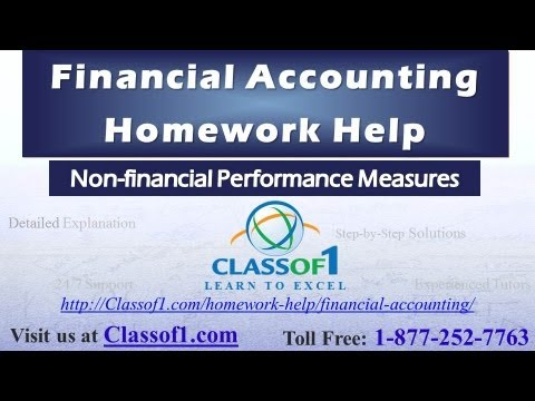 non financial performance measures financial accounting  non financial performance measures financial accounting assignment help by classof1 com