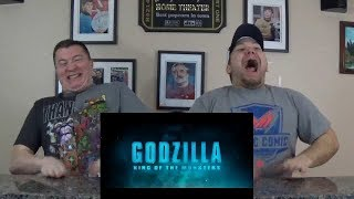 Godzilla: King of the Monsters - Official Trailer 2 REACTION!!!