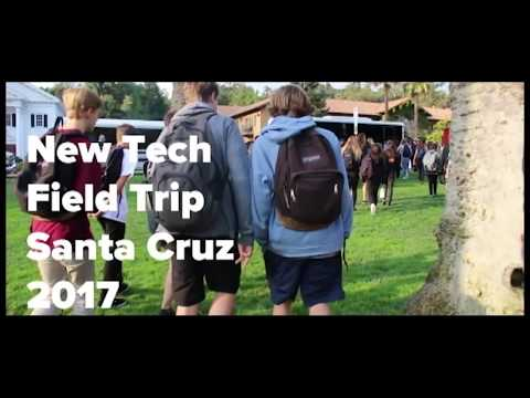 Los Gatos High School: New Tech Field Trip Santa Cruz 2017
