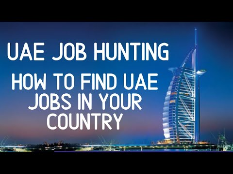 How To Do Job Hunting In DUBAI-UAE - Search or find a local