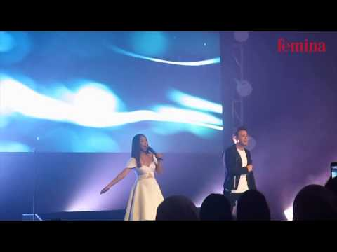 Shane Filan feat Gloria Jessica - Flying Without Wings (Live in Jakarta, 14 Maret 2017)