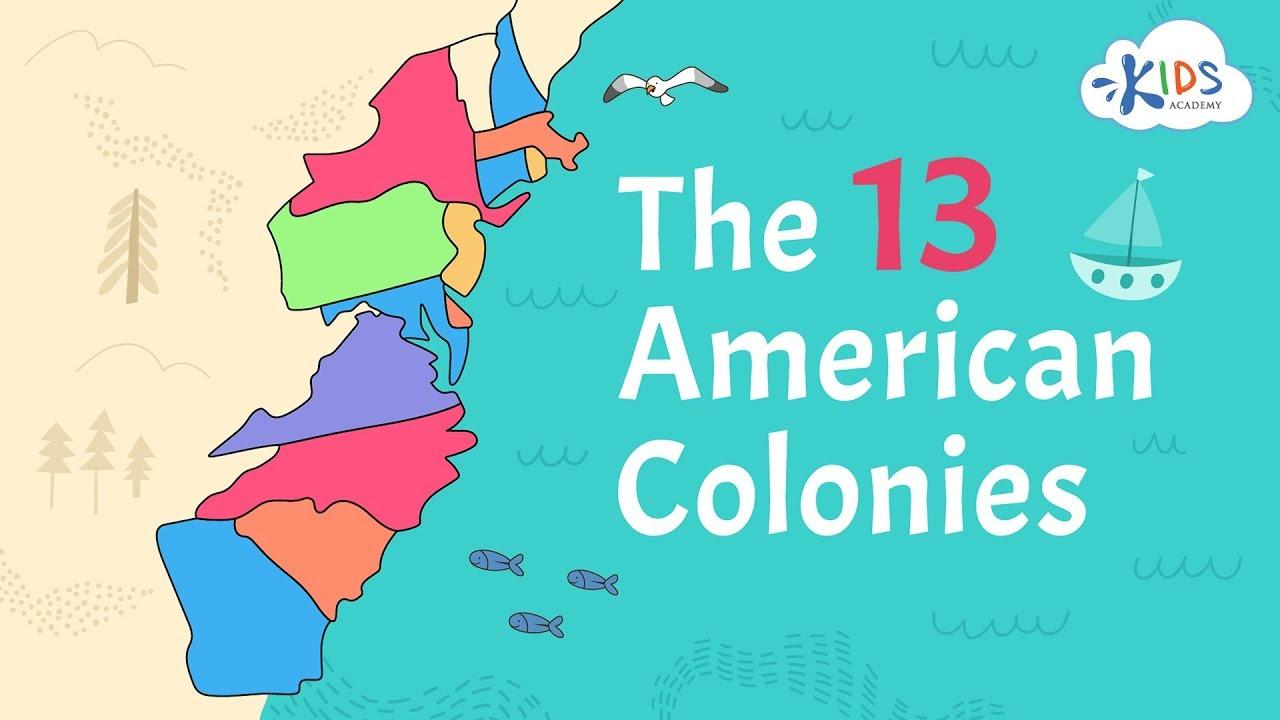 13 American Colonies   US History   Kids Academy - YouTube [ 720 x 1280 Pixel ]