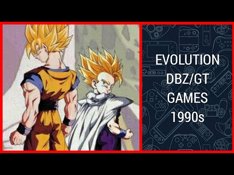 EVOLUTION Of DRAGON BALL Z/GT (fighting) Games (1990s)