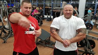 Hit Fitness, Питерленд, Санкт-Петербург. Тренировка с Мишей.