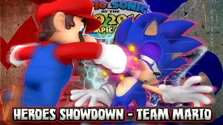 Mario And Sonic At The Rio 2016 Olympic Games   Wii U   Heroes Showdown TEAM MAR O