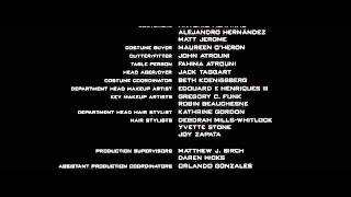 Transformers (2007) End Credits